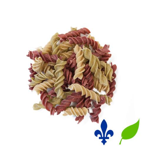 le Macaroni de blé blanc bio est une pâte vide en forme de c. C'est aussi la pâte utilisée dans les mac and cheese. Idéales pour les salades de pâtes ou pour servir avec la sauce de votre choix.