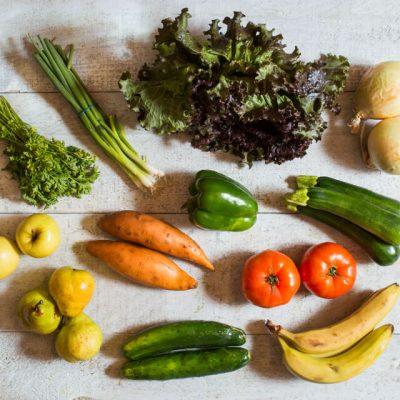 Panier de fruits et légumes biologiques - 2 personnes