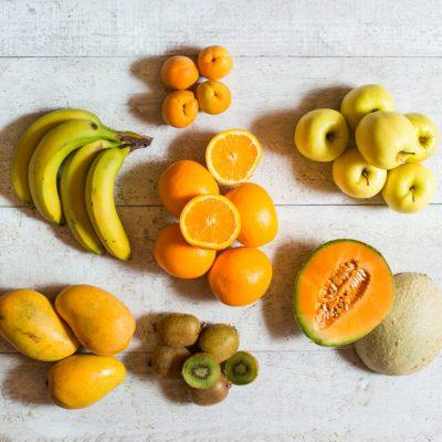panier de fruits internationaux - 3-4 personnes