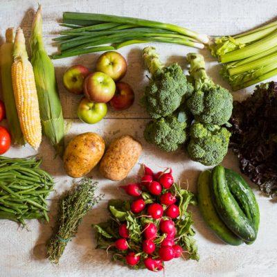 Panier de fruits et légumes Locaux - 4 personnes