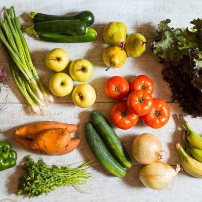 Panier de fruits et légumes biologiques - 4 personnes