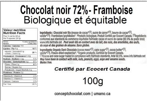 72-framboise-100g valeur nutritive